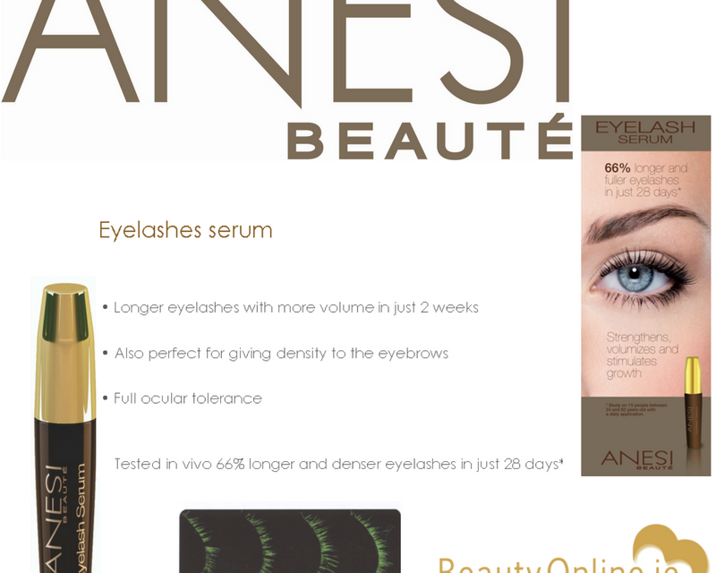 Anesi Eyelash Serum Beauty Online Skincare Facial Products For